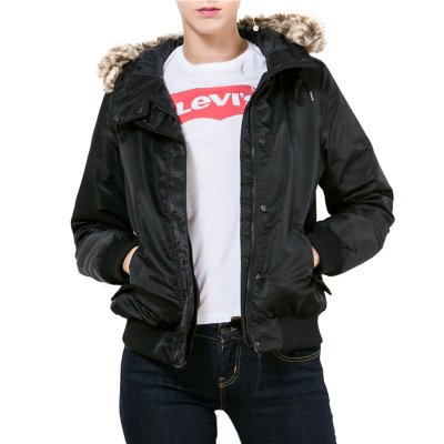 Levis Hooded Filled Bomber